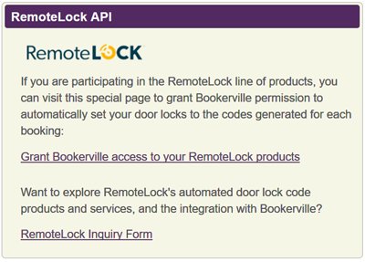 RemoteLock Authorization