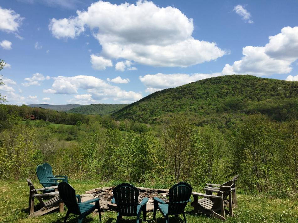 Two Brothers Woods Vacation Rental in Margaretville, NY