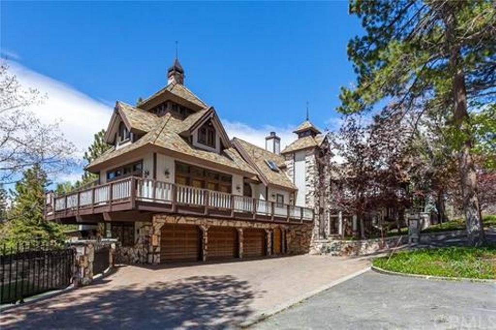 Big Bear Lake  California Vacation Rental Edgewood Mansion